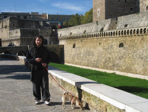 Visiting Puglia, Italy: man in Bari