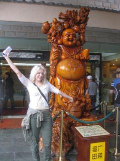 The people you meet, Wandering Carol on Hainan Island