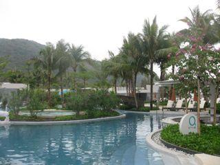 China's tropical island, Hainan Island, luxury resort
