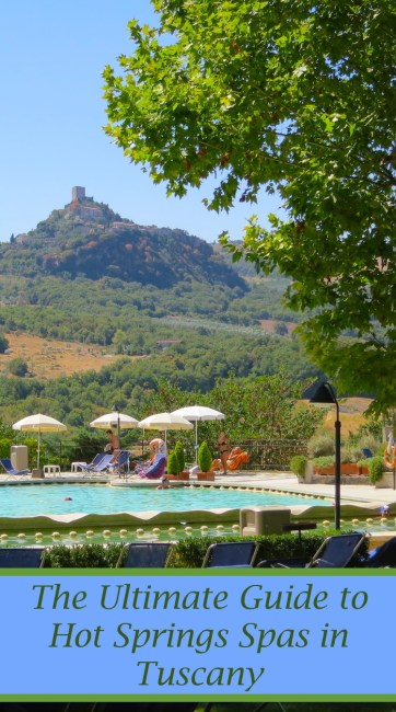 Make your Italy trip relaxing. Here is the ultimate guide to thermal spa resorts and natural hot springs pools in Tuscany.