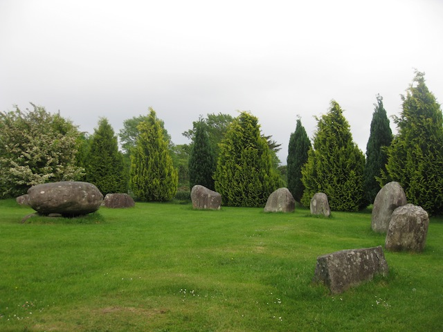 The Stone Circle of Kenmare and the Ring of Kerry