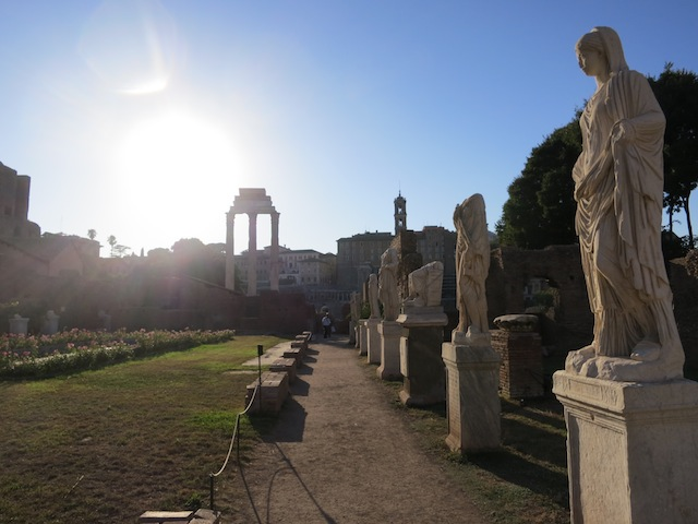 Statues of the Vestal Virgins of Rome