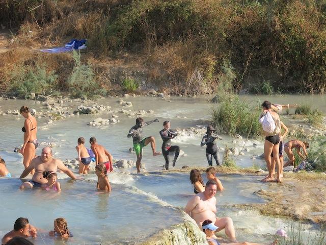 Spas in Tuscany, natural Saturnia