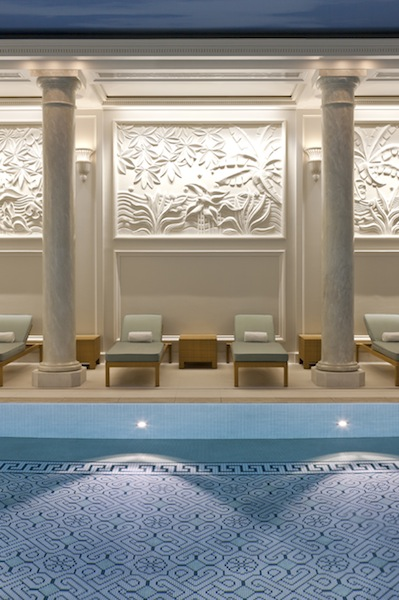 New spa at Shangri-La Paris