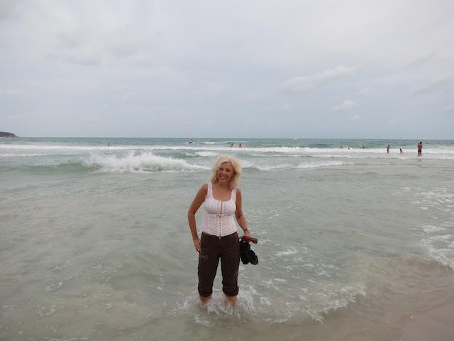 Beach scene in Koh Samui, WanderingCarol.com