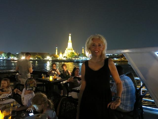 Getting a Travel Column, Wandering Carol Touring Thailand