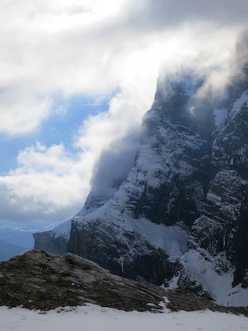 Gemmi Pass, Leukerbad cable car Alps
