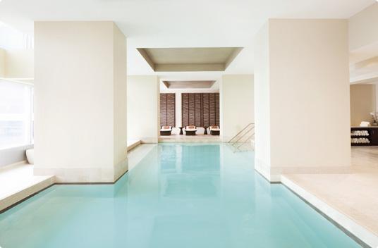 Ritz Toronto pool spa for couples