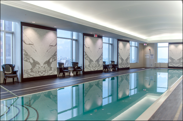 Trump hotel pool spa for couples