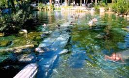 hot springs spas, pamukalle