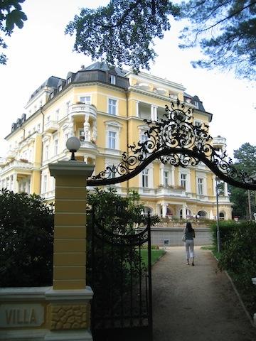 Good hotle in Franzensbad Czech Republic