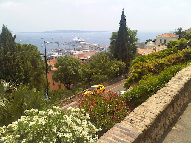 Cannes on the Mediterranean
