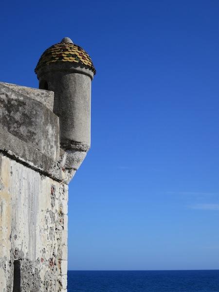 Bastion designed by Jean Cocteau Menton