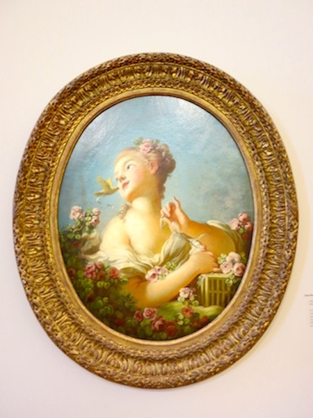 Painting by Fragonard in Grasse
