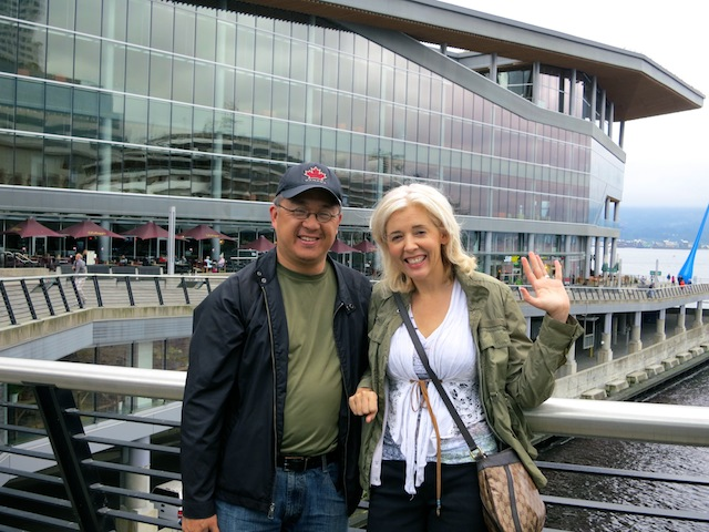 One day in Vancouver with Wandering Carol and Henry Lee