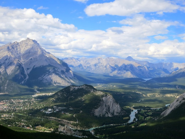 Nice view of Banff, Canada