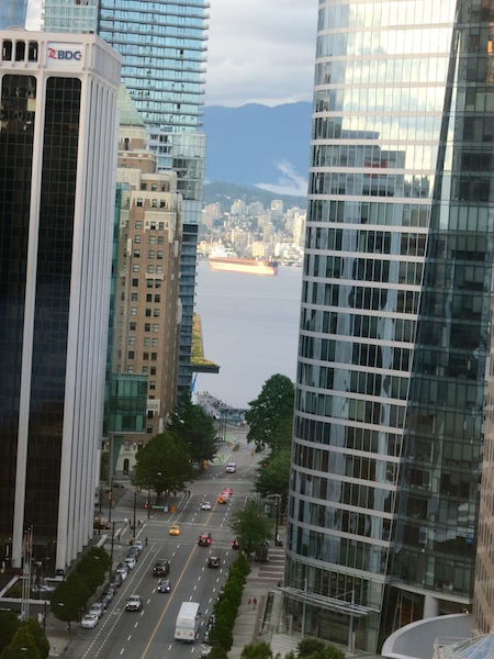 Fairmont Hotel Vancouver blog review my view
