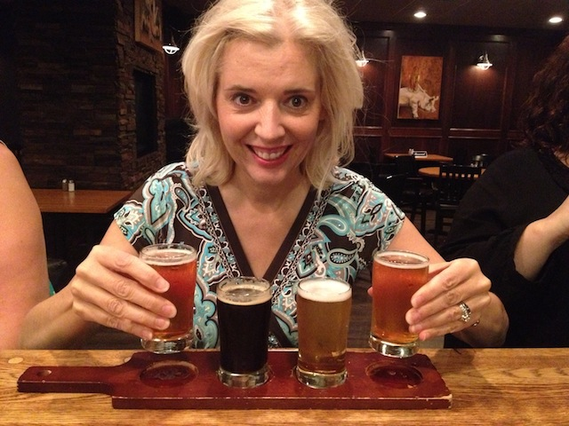 Craft beer tasting at the Noble Pig Kamloops