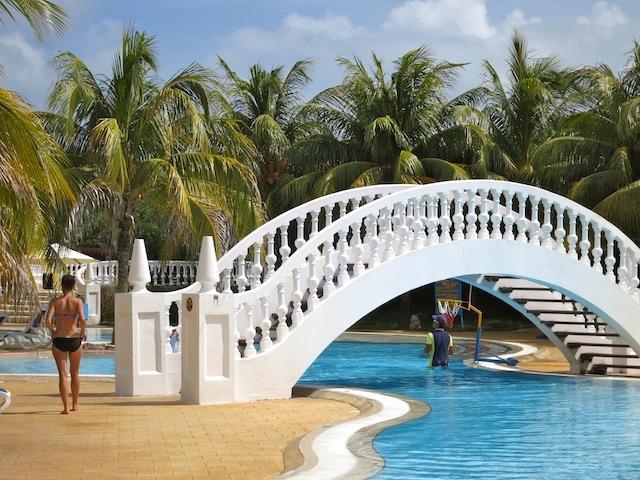 Iberostar Ensenachos swimming pool in Cuba