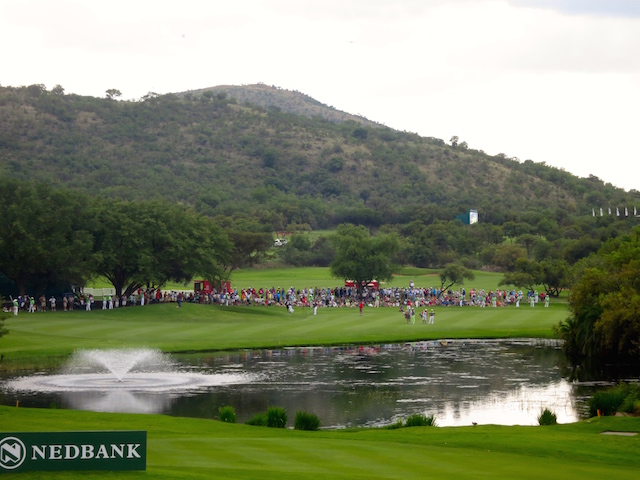 Gary Player Country Club Golf Course Romance at Sun City with pro golfers