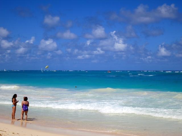 Beach at Paradisus Punta Cana, Dominican Republic