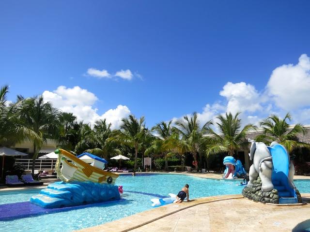 Paradisus Punta Cana and Paradisus Palma Real have kids' pools