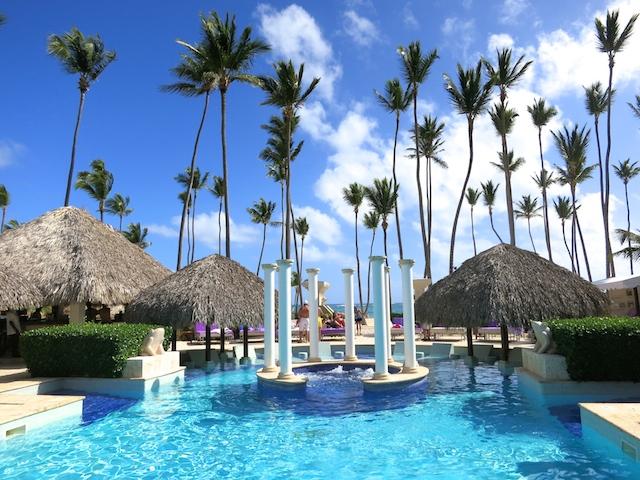 Royal Service pool at Paradisus Palma Real Punta Cana