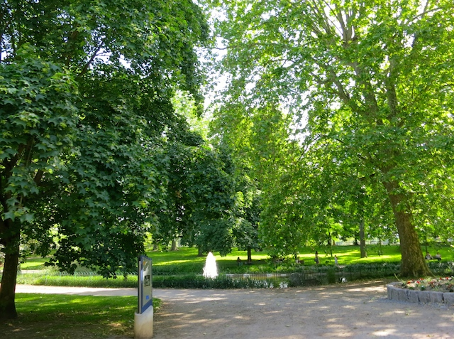 Parc des Source, French spa town of Vichy, France