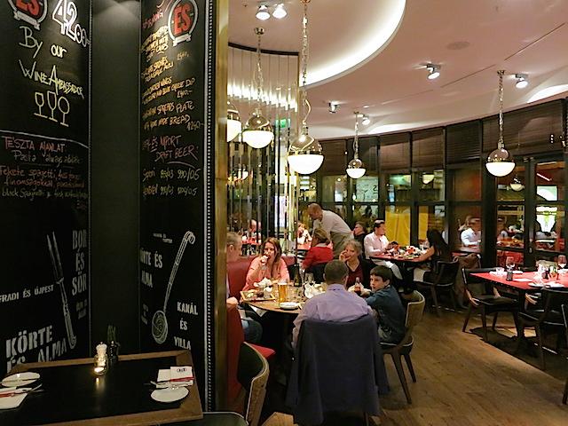 Gundel Restaurant in Budapest, Hungary