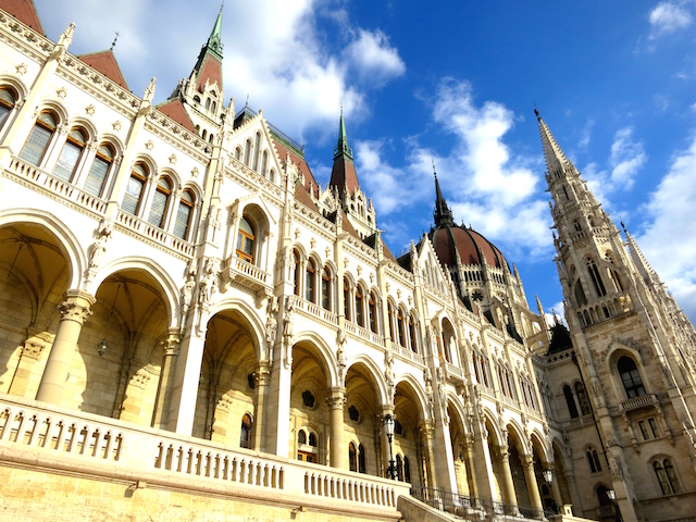 Parliament Building in Budapest, Hungary Air Transat flies to Budapest 2015
