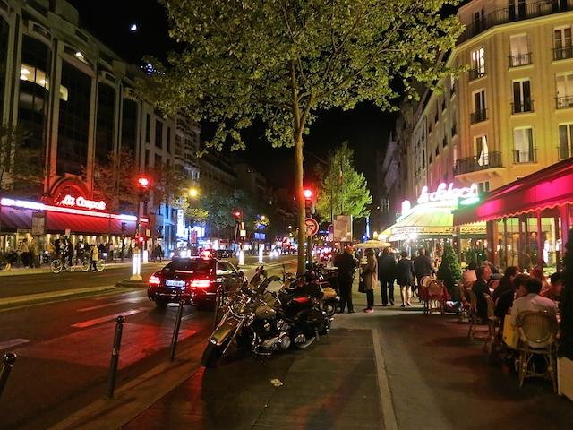 Historic Montparnasse cafes in Paris, Boulevard du Montparnasse