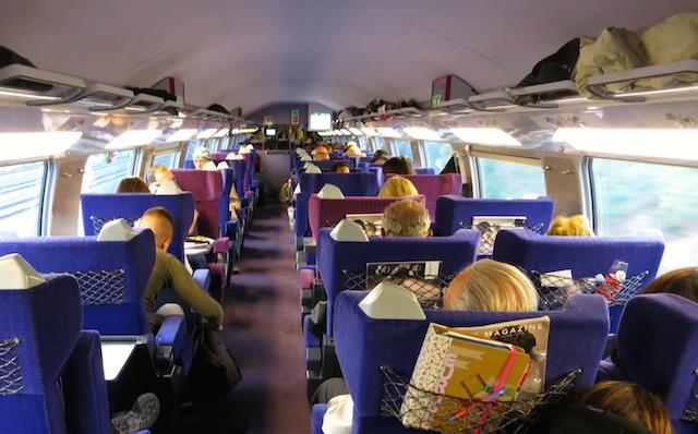 Paris to Barcelona train TGV France-Spain High Speed