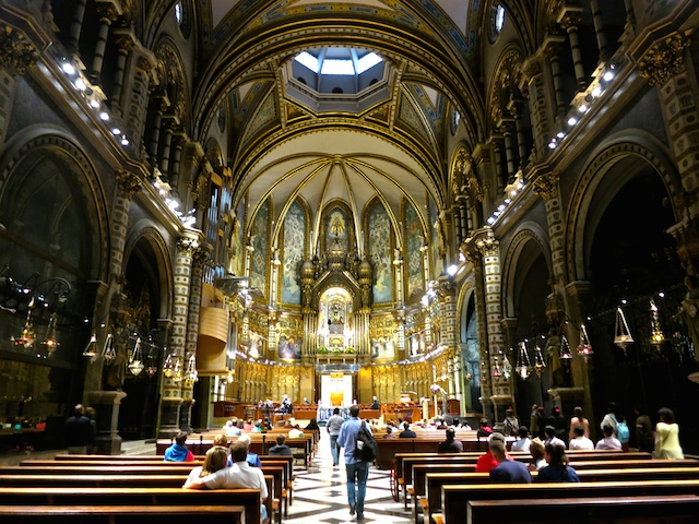 Basilica Montserrat, Spain