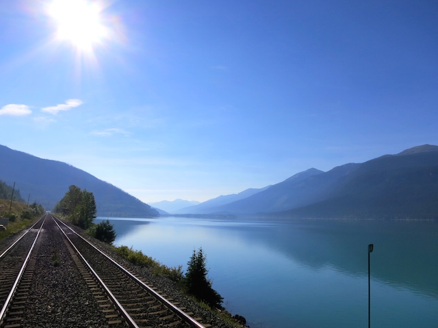 Romantic train ride, Rainforest to Gold Rush route, beautiful landscape