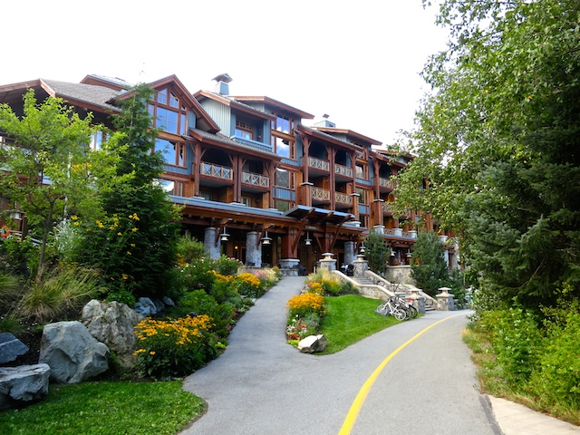 Valley Trail, Nita Lake Lodge in Whistler, Creekside review