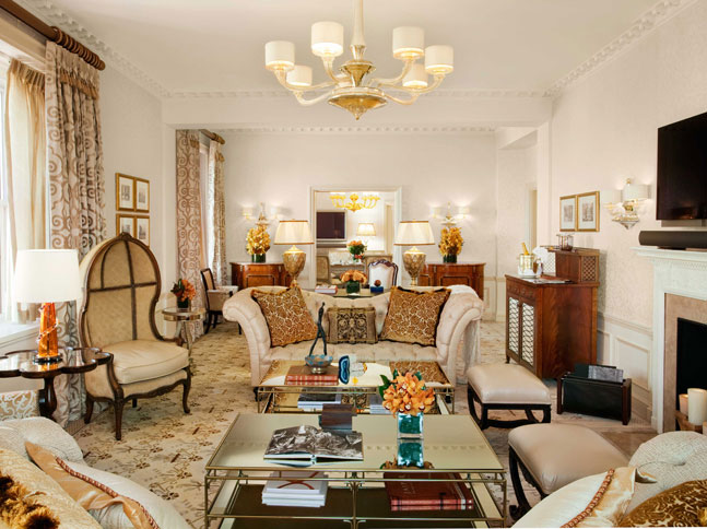 New York Hotel review The Pierre Tata-Suite