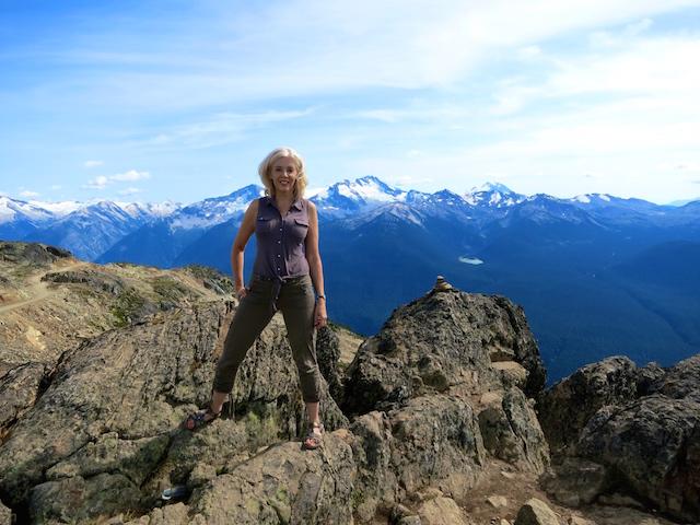 Peak to Peak Whistler experience, mountain view