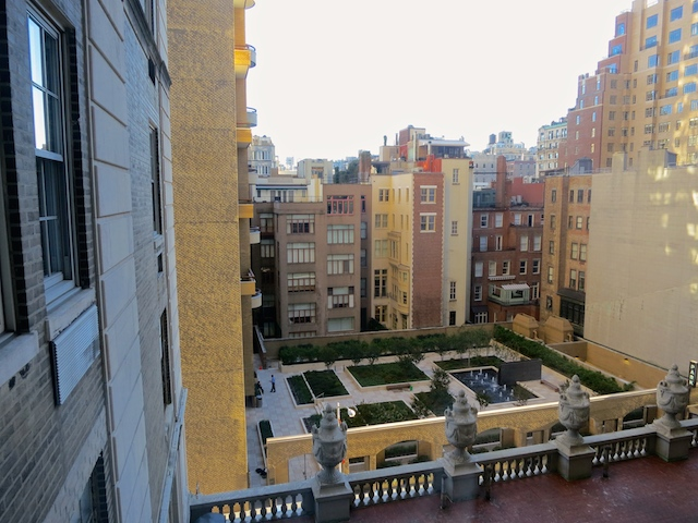 Review The Pierre Hotel New York view from Room 618