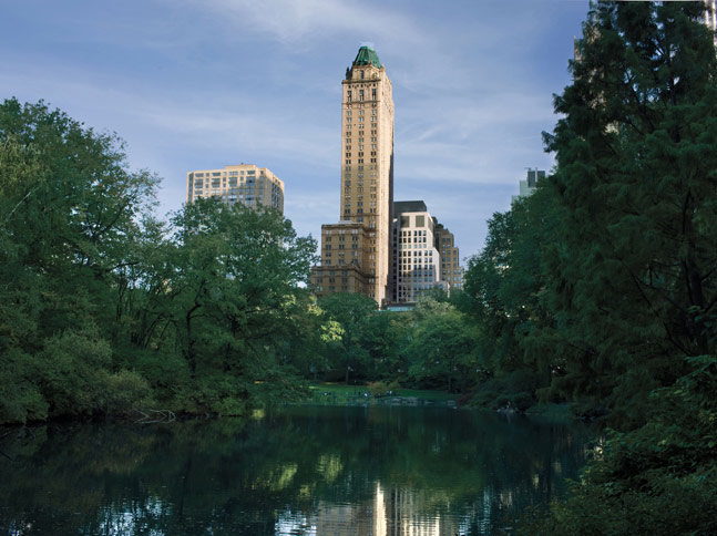 Review The Pierre Hotel New York from Central Park