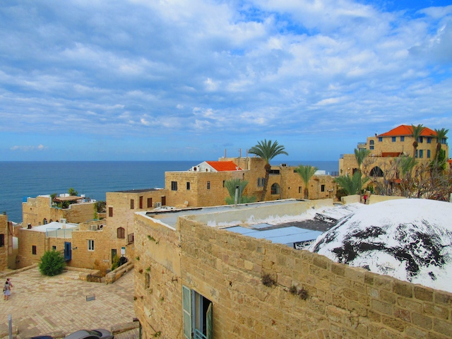 One day in Old Jaffa, Tel Aviv, an ancient port city