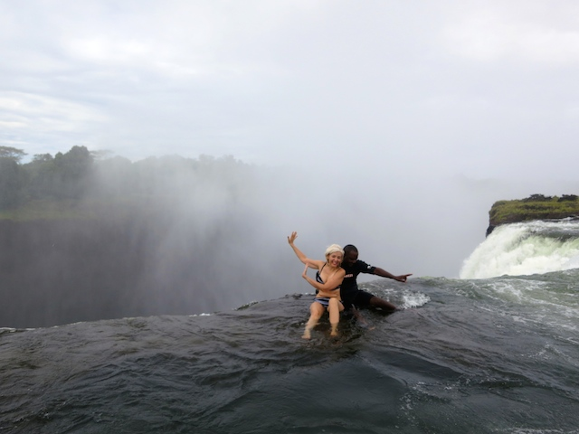 Victoria Falls, Devil's Pool, extreme adventure vacations in Zambia