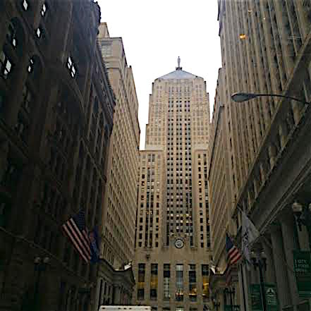 Former Chicago Board of Trade Building