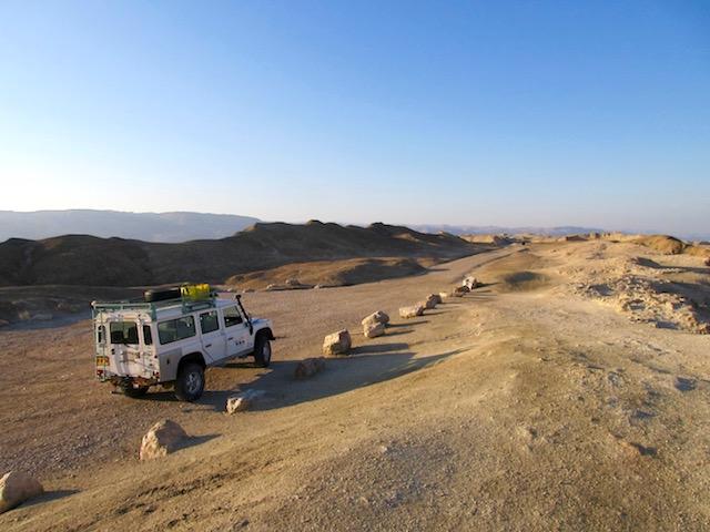Judean Desert jeep tour adventure