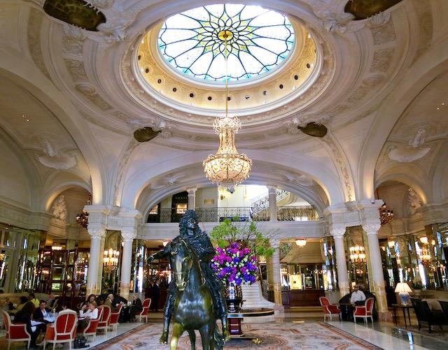 Inside the Hotel de Paris Monte Carlo
