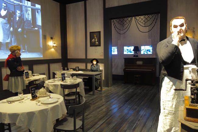 Chaplin's World restaurant