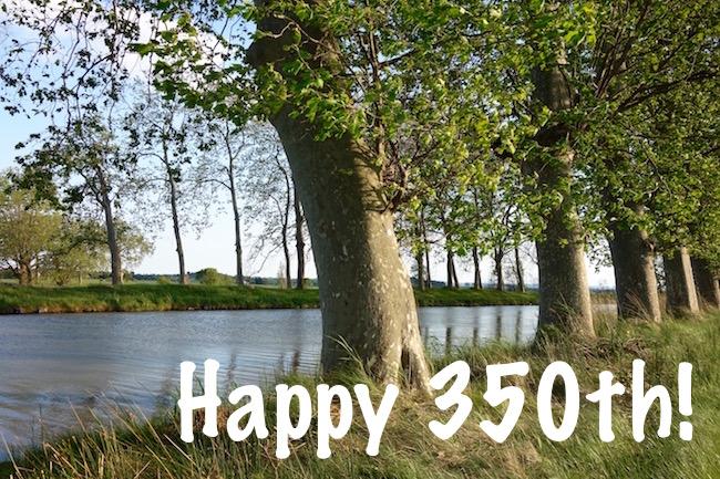 Canal du Midi 350th anniversary