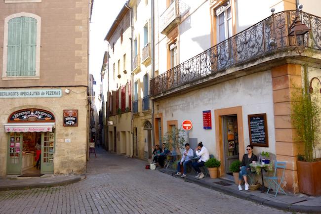 Pezenas, France, Place Gambetta