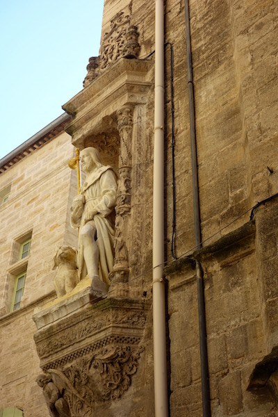 Pezenas, France, statue