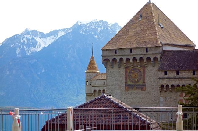 Chateau de Chillon, Montreux, Switzerland