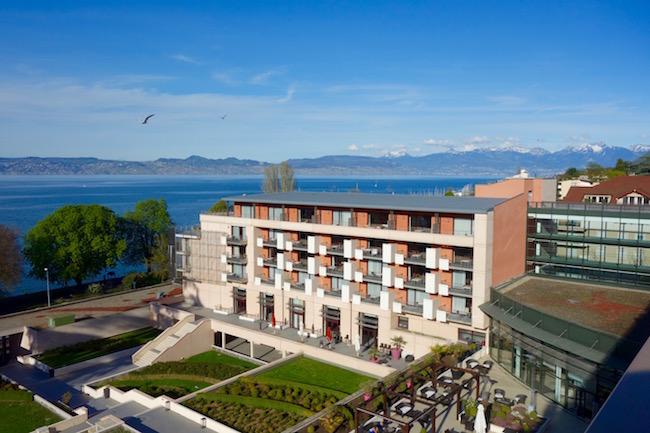 Evian hotel Hilton Evian-les-Bains